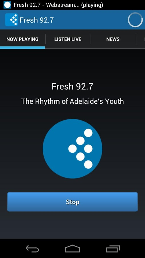 Fresh 92.7 - screenshot