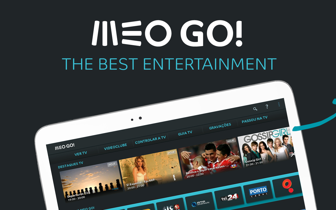 MEO Go - screenshot