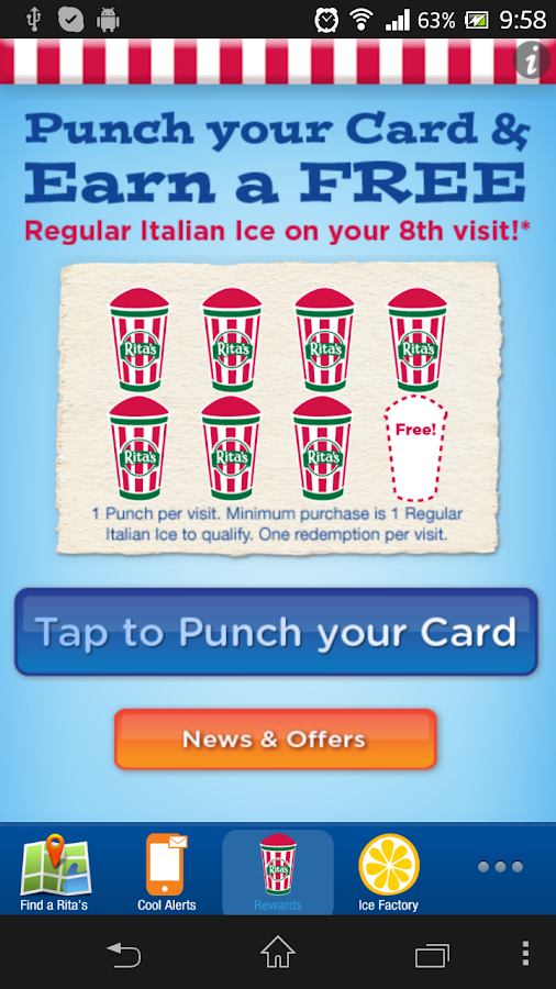 Rita's Ice - screenshot