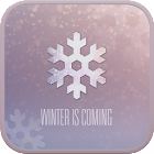 WINTER IS COMING GO SMS THEME icon