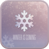 WINTER IS COMING GO SMS THEME