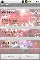 Screenshot of LoveBear LiveWallpapaer