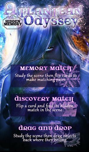 【免費休閒App】Hidden Memory- Atlantean-APP點子