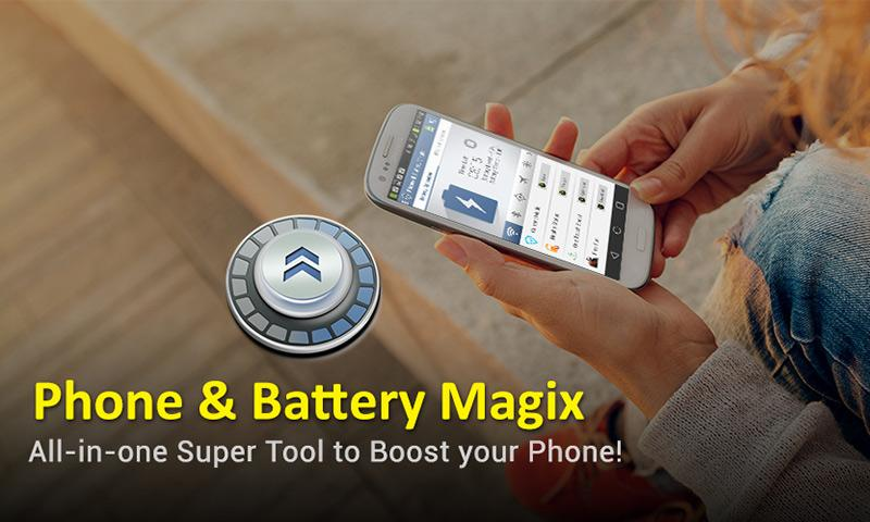 Phone & Battery Magix- screenshot