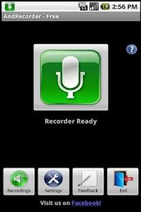 AndRecorder - Free- screenshot thumbnail
