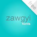 Flipfont New Zawgyi Myanmar icon