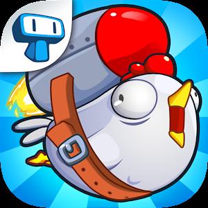 Chicken Toss - Crazy Chicken Launching Game
