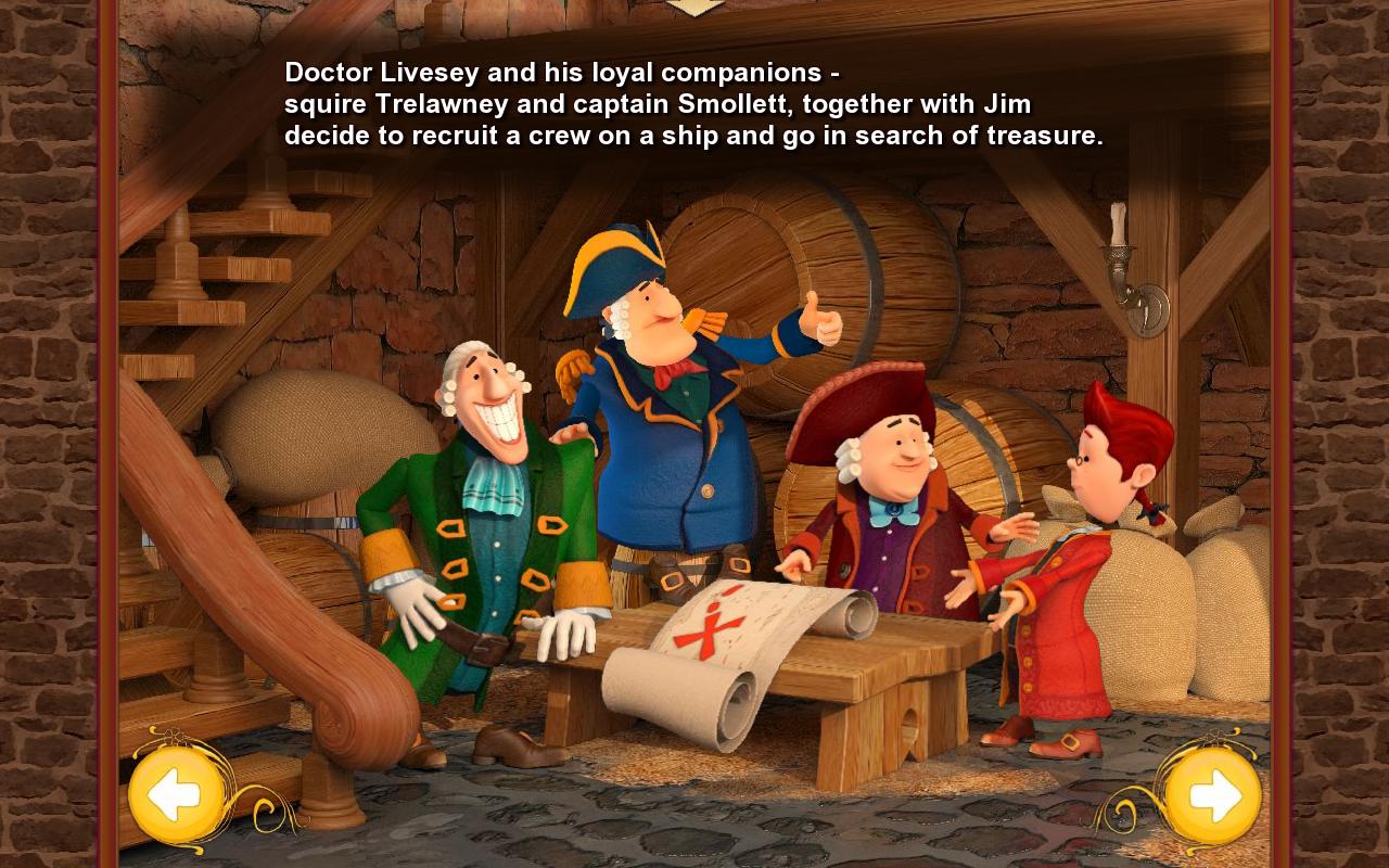 Treasure Island Players Card