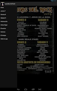 Leyendas del Rock 2017- screenshot thumbnail