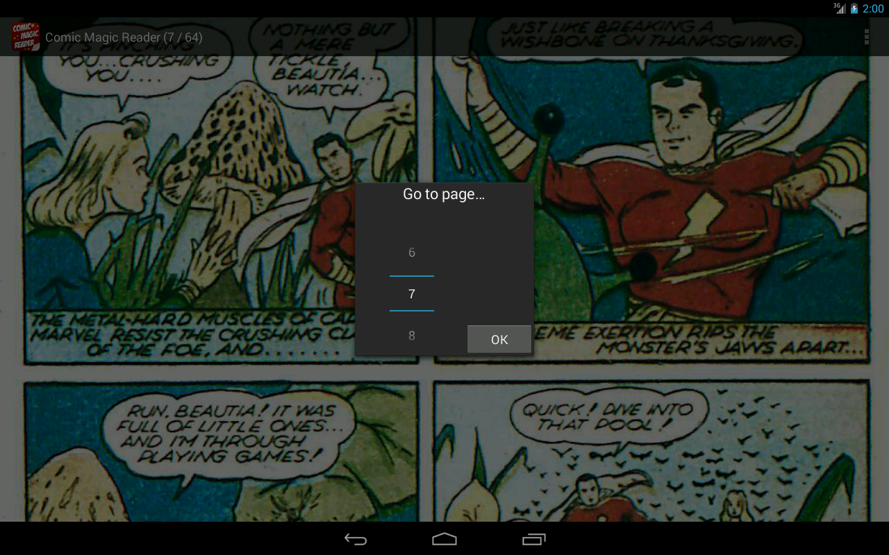 Comic Magic Reader- screenshot