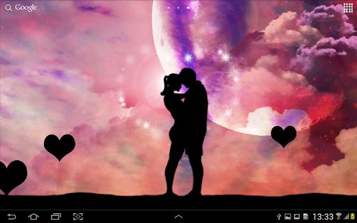 玩免費個人化APP 下載Romantic Love Live Wallpaper app不用錢 硬是要APP