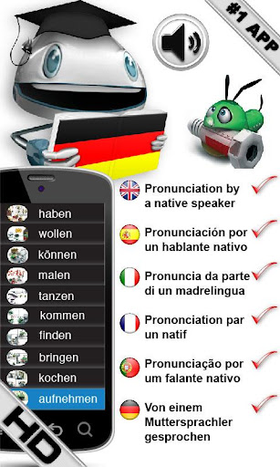 Free German Verbs