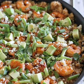Southwestern Shrimp Quinoa.