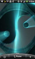 Screenshot of 3D Yin and Yang Live Wallpaper