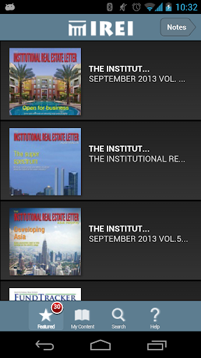 Institutional Real Estate Inc