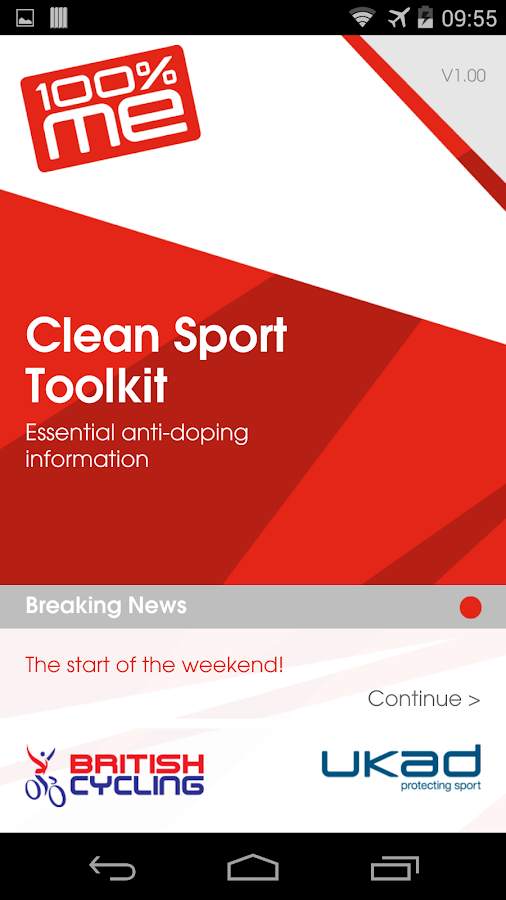 Clean Sport- screenshot