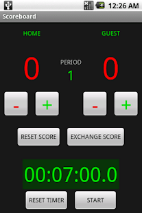 Scoreboard with Timer- screenshot thumbnail