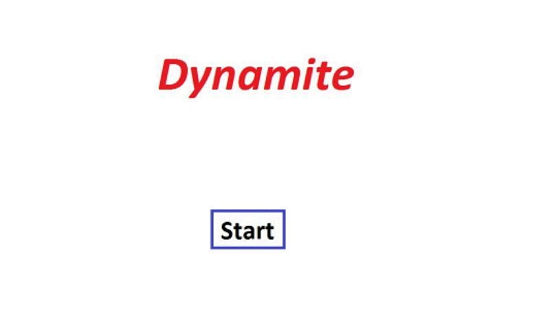 Project Dynamite- screenshot