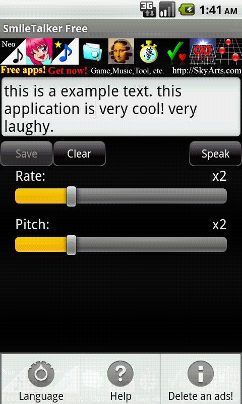SmileTalker Free- screenshot