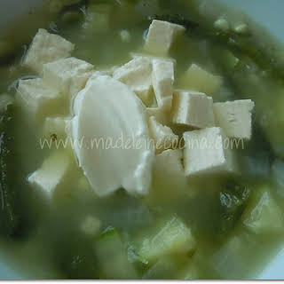 Tlaxcalan Style Soup.