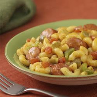 Chicago-Style Franks and Macaroni