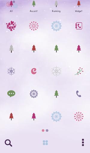 玩個人化App|눈속의 요정 도돌런처테마免費|APP試玩