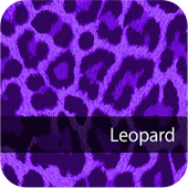 Cute! PurpleLeopard WallPaper3