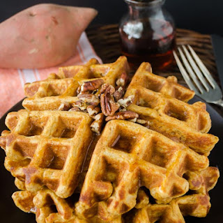 Whole Wheat Sweet Potato Waffles