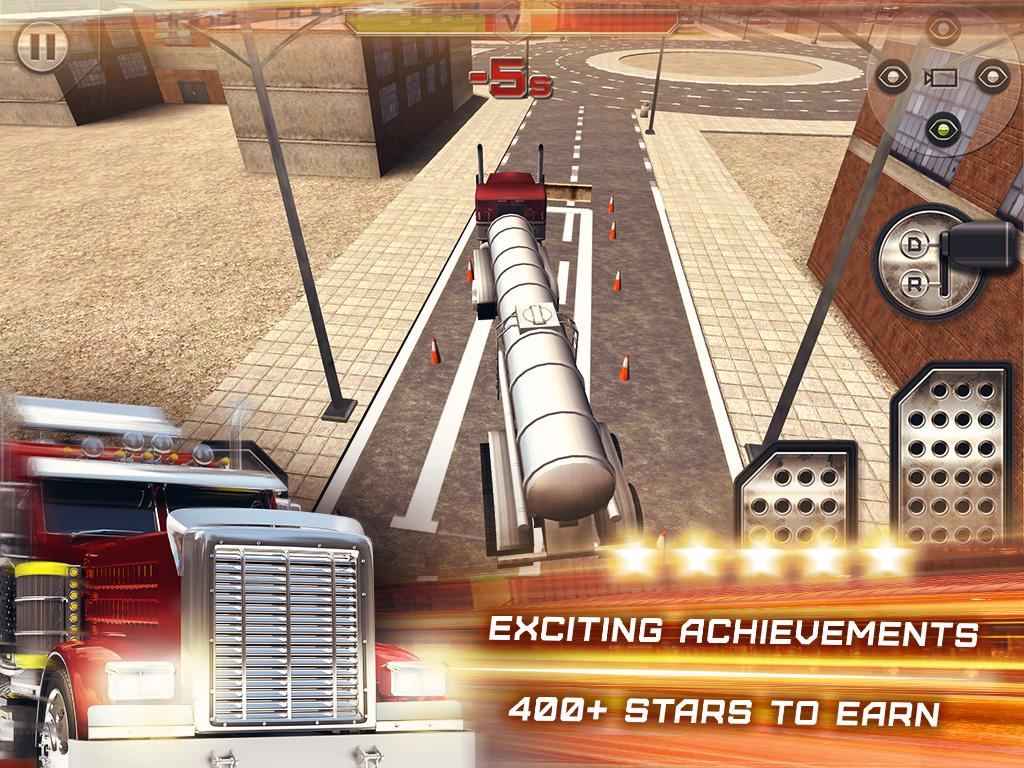 3d truck parking simulator android apps on google play