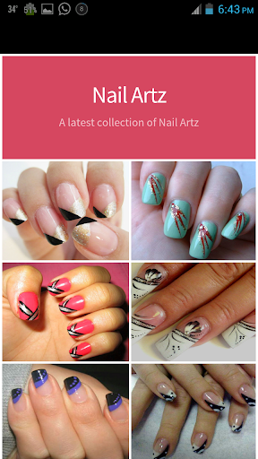 Nail Art Painting Designs