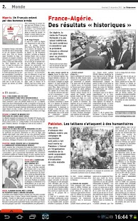 Le Télégramme - Journal - screenshot thumbnail