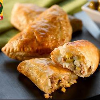 Tuna and Green Olive Pastries Recipe