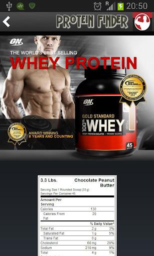 Protein Finder Plus