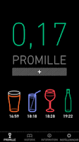 Screenshot of Promillekoll