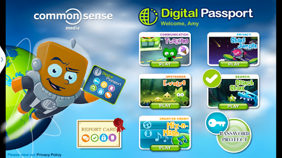 Digital Passport for Kids - screenshot thumbnail