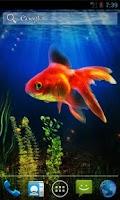 Screenshot of Goldfish Live Wallpaper