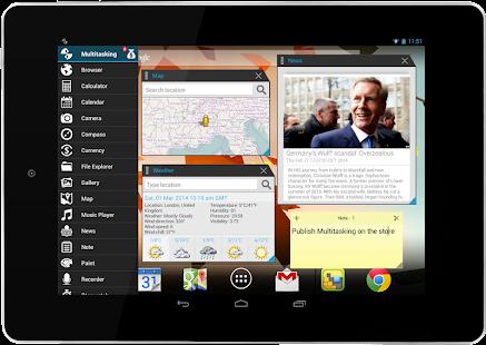 Multitasking- screenshot thumbnail