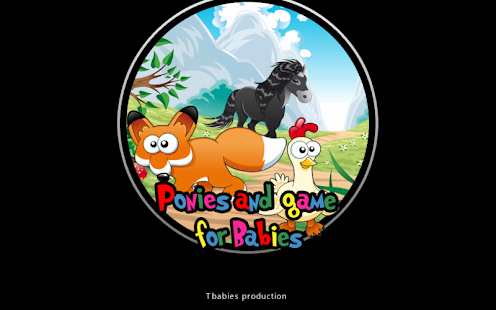 Ponies and games for babies- screenshot thumbnail