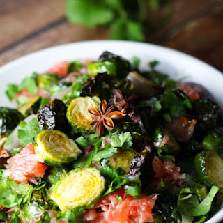 Brussels Sprouts and Pomelo