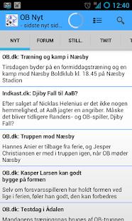 OB Nyt - screenshot thumbnail