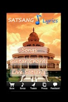 Screenshot of Art of Living Satsang Lyrics