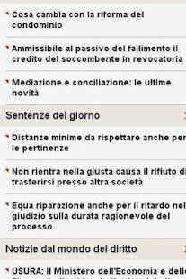 News Diritto - screenshot thumbnail