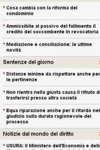 News Diritto - screenshot
