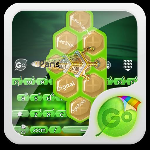 巴黎 GO Keyboard 個人化 App LOGO-APP試玩