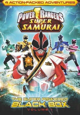 Power rangers super samurai the super powered black box - Jeux de power rangers super samurai ...