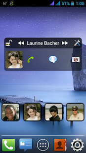 Easy Contact Widget – Vignette de la capture d'écran