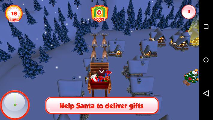 Santa Delivery 3D - screenshot