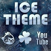 Winter Ice Go Launcher Theme