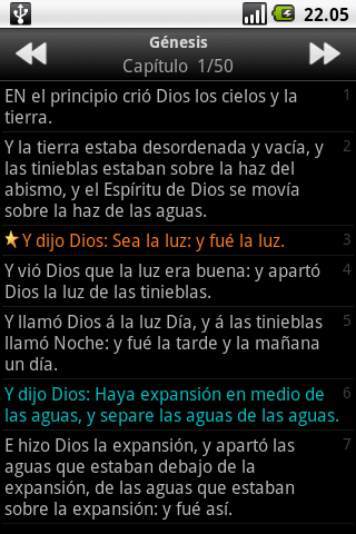 Santa Biblia (Holy Bible) - screenshot