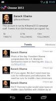 Screenshot of Election 2012